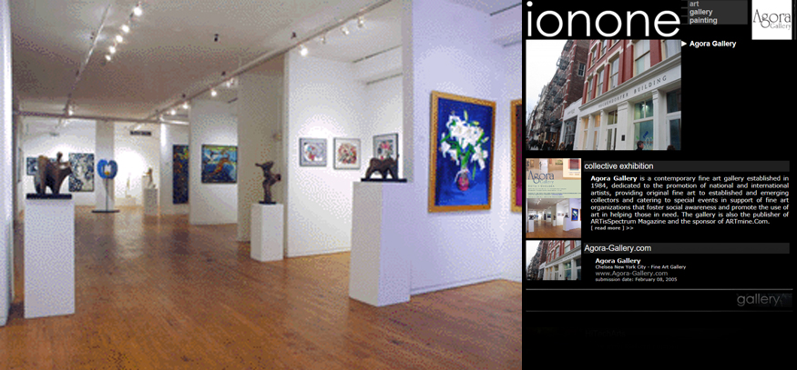 ionone world | gallery | Agora Gallery - Contemporary art gallery