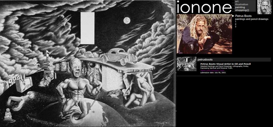Ionone world art visual artist fandeluxe Choice Image