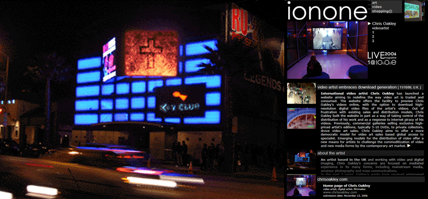 ionone world | sculpture | Chris Oakley  - Art works