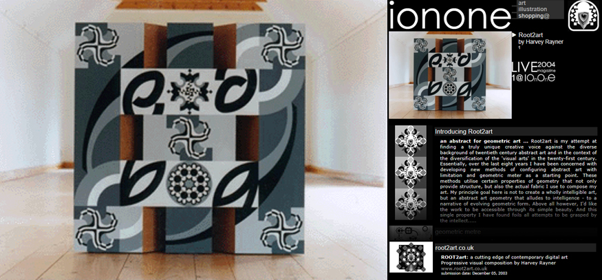 Ionone world art an abstract for geometric art root2art is my attempt at finding a truly unique creative voice against the diverse background of twentieth century fandeluxe Choice Image